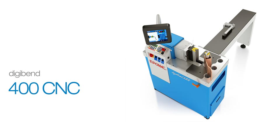 Digibend 400 CNC Touchscreen Bending Machines